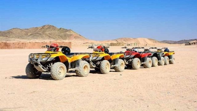 El Gouna desert Morning Safari Exciursion By Quad Bike