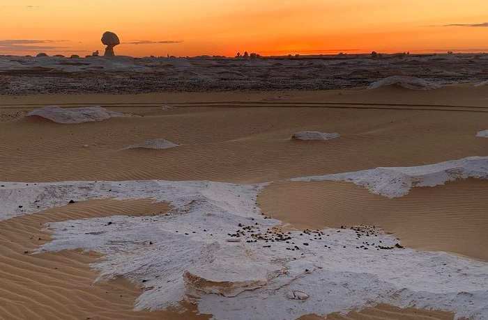 White desert tours from Hurghada