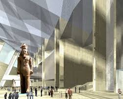 The Grand Egyptian Museum at Giza
