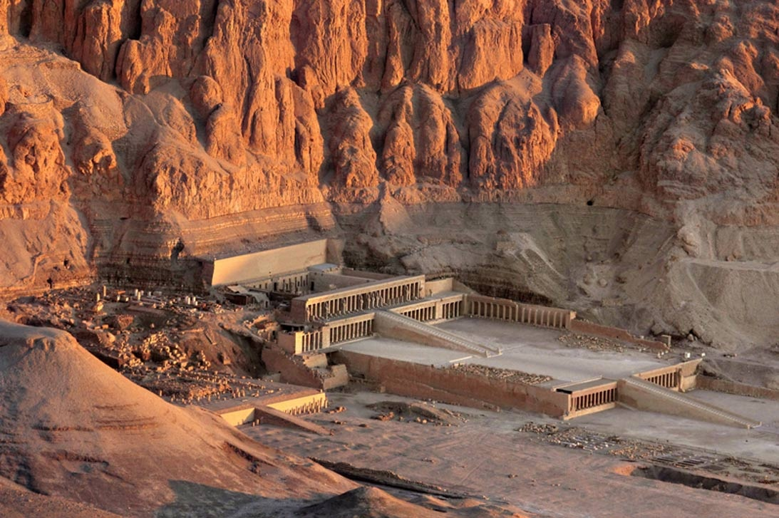 The Queen Hatshepsut temple