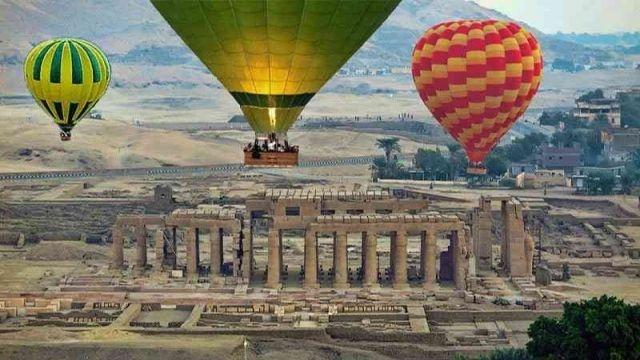 Hotair Balloon luxor