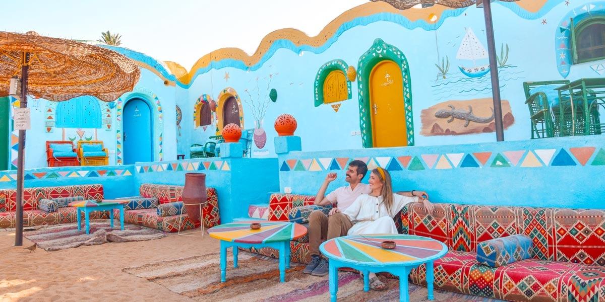 The nubian village