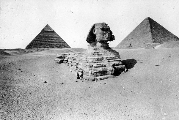 Old Photo for the Sphinx