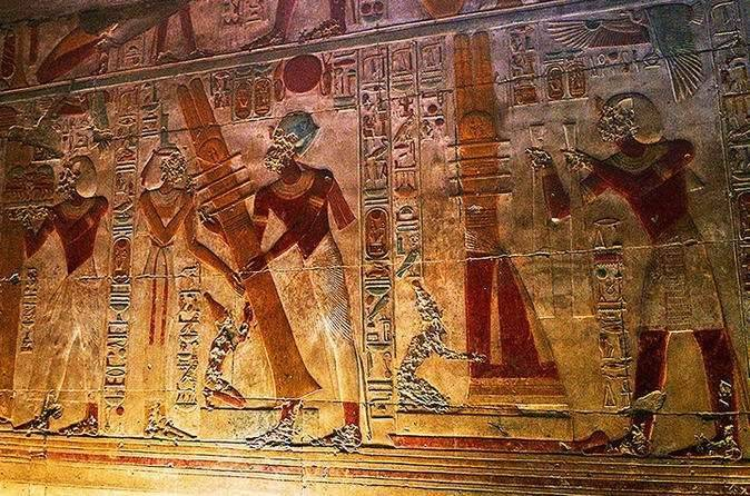 Day trip to Dendera and Abydos from Luxor