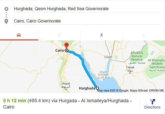 Transfer from Cairo to Hurghada City