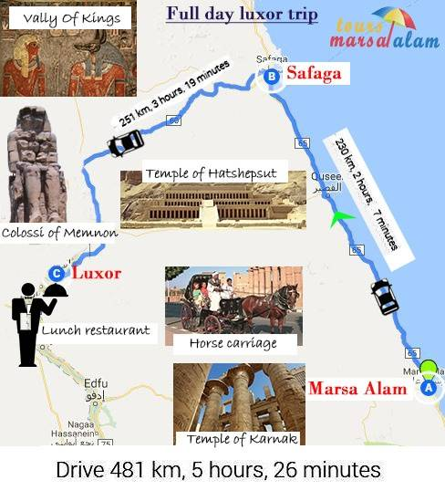 Day Trip to Luxor from Portghalib