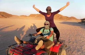 Makadi Desert Sunset Safari Trip By Quad Bike