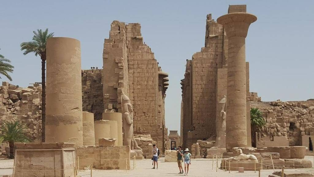 Two day trip to Luxor from El Quseir