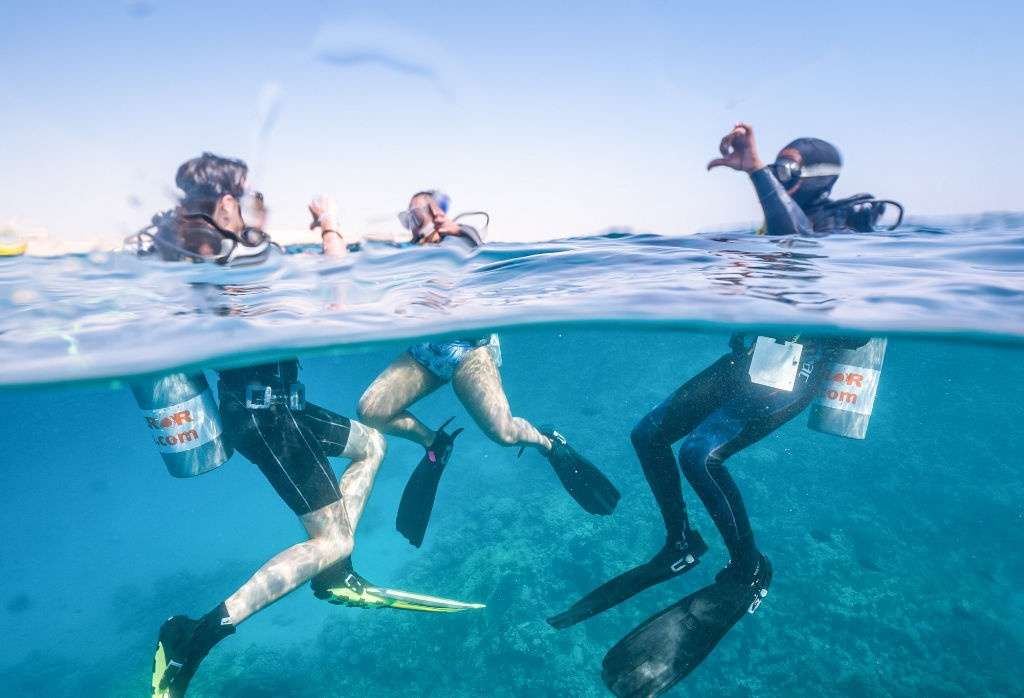 2 days scuba diving course excursions in Portghalib