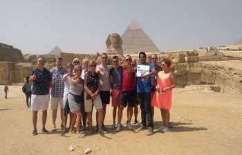 Private trip to Giza Pyramids from Safaga