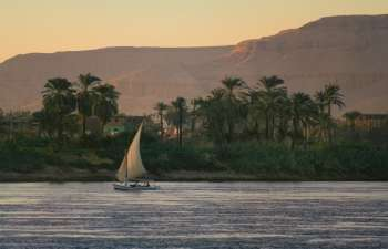 Sunset sailing trip with Felucca  in Luxor