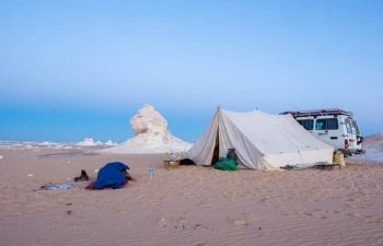 Three days tour to Bahariya Oasis and white desert from Cairo