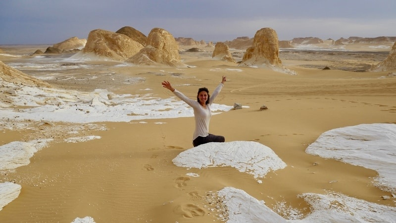 White desert tour from Cairo