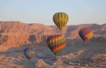luxor two days tour from Sahl Hasheesh with hotair balloon