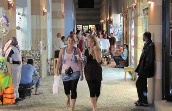 shopping trip to port ghalib from marsa alam