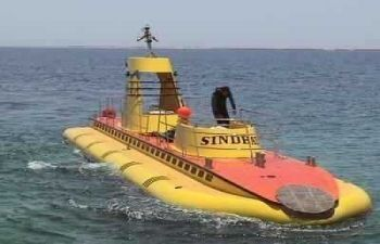 sindbad submarine adventure from El Gouna